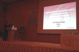 Conferencia sobre su Técnica Personal: «Mamoplastia de Reducción con cicatriz en «L» + «Autoprótesis».