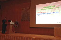 Conferencia «Resección Total de los Cartílagos Alares + Fascia Temporal en Rinoplastia de Puntas muy difíciles»
